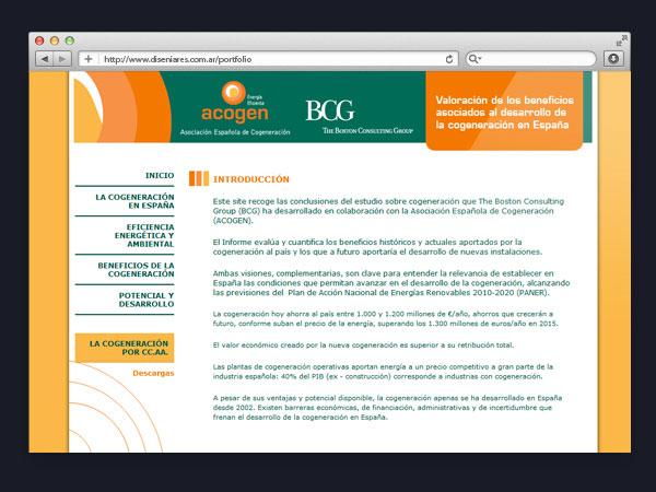 Acogen - Sitio Web