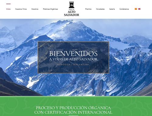 Alto Salvador - Sitio web