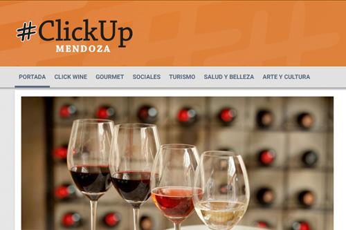 Clickup Mendoza - Diseño de Marca y Sitio web
