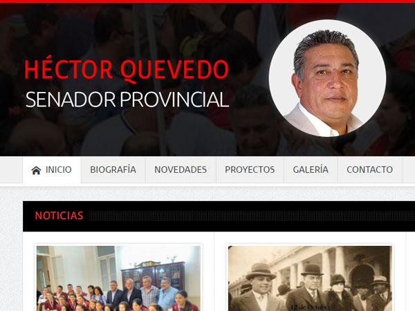 Hector Quevedo - Sitio web
