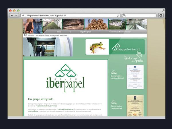 Iberpapel - Maquetación HTML
