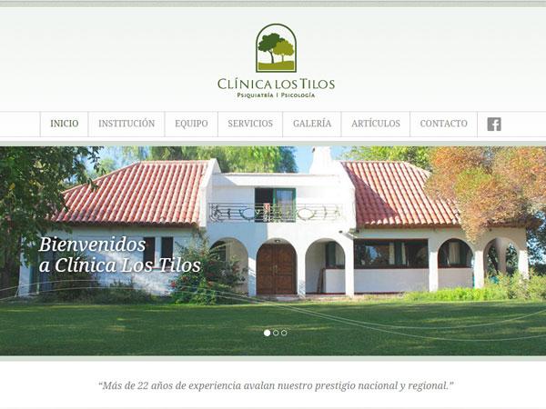 Clínica los Tilos - Sitio web