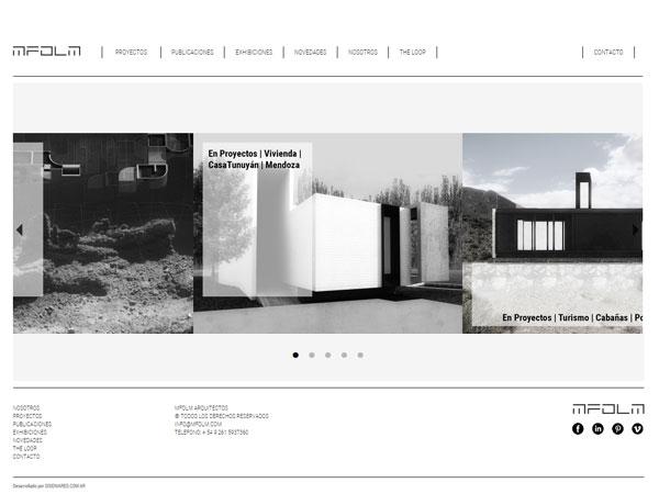 Mfolm - Sitio web