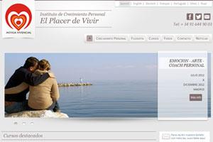 Mitica Vivencial - Sitio web