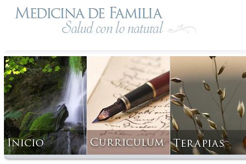Salud con lo natural - Sitio web