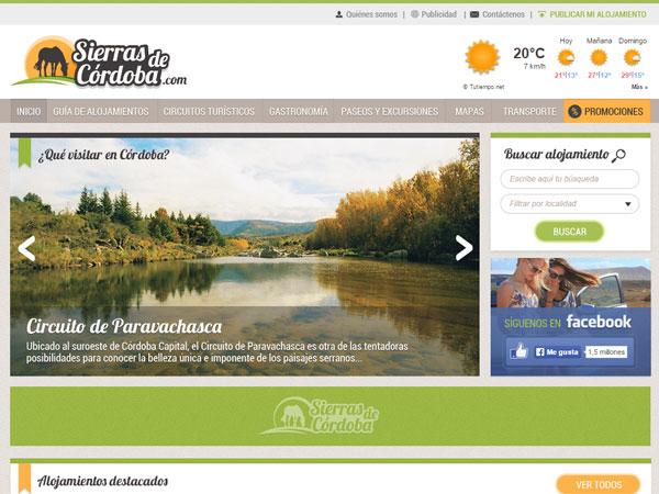 Sierras de Córdoba - Rediseño de Marca y Sitio web